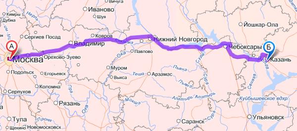 Почему нам стоит доверить перевозку грузов из Казани в Москву?